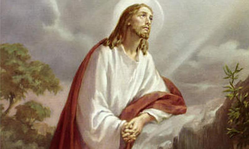 Tajemnica pierwsza - MODLITWA PANA JEZUSA W OGRÓJCU