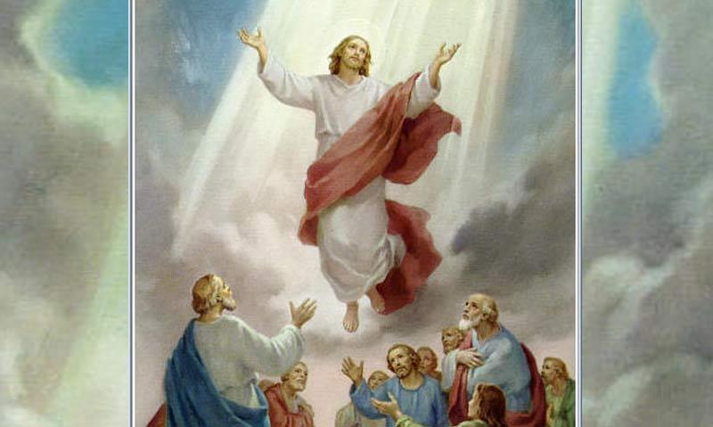 Tajemnica druga - WNIEBOWSTĄPIENIE PANA JEZUSA