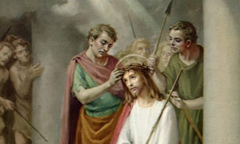 Tajemnica trzecia - CIERNIEM UKORONOWANIE PANA JEZUSA